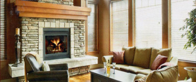 fireplace and chimney. Warm and Comfortable Fireplace Photo American Chimney