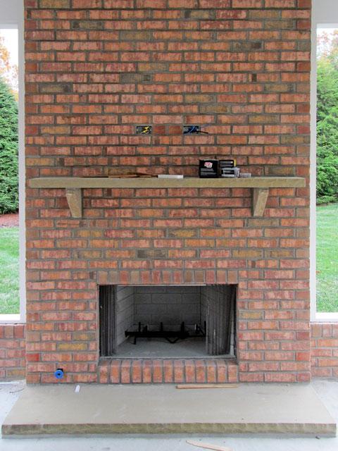 Open Masonry Fireplaces American Chimney & Fireplace