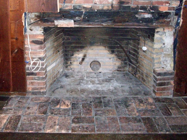 pin fireplace refacing on