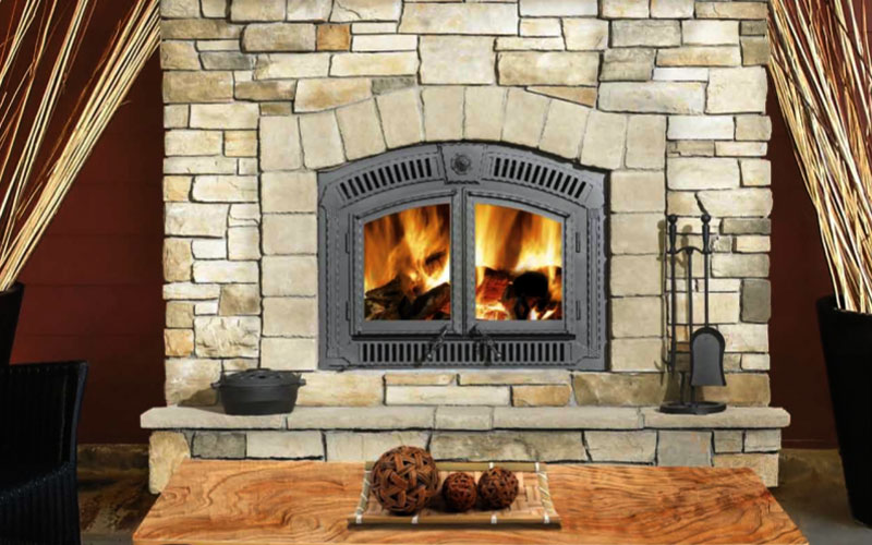 American Chimney and Fireplace can rebuild or replace your fireplace. We can install gas inserts
